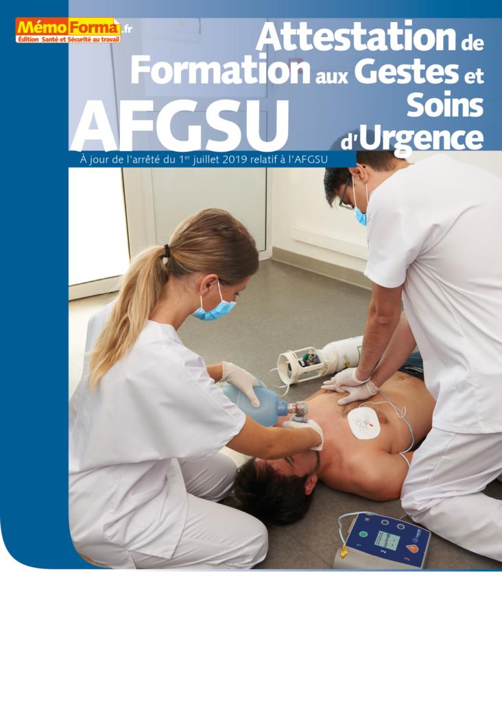 Manuel formation Attestation de Formation aux Gestes et Soins d'Urgence - MémoForma.fr