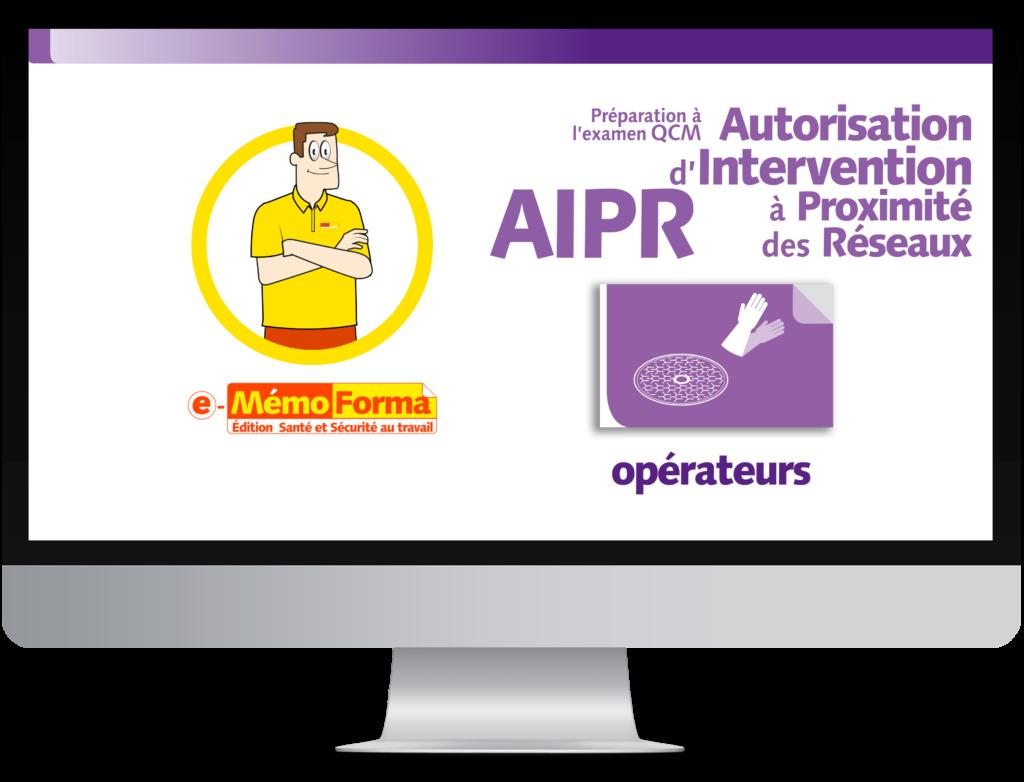 Formation en ligne e-MémoForma – Préparation à l'examen CQM Autorisation d'Intervention à Proximité des Réseaux pour les opérateurs - MémoForma.fr