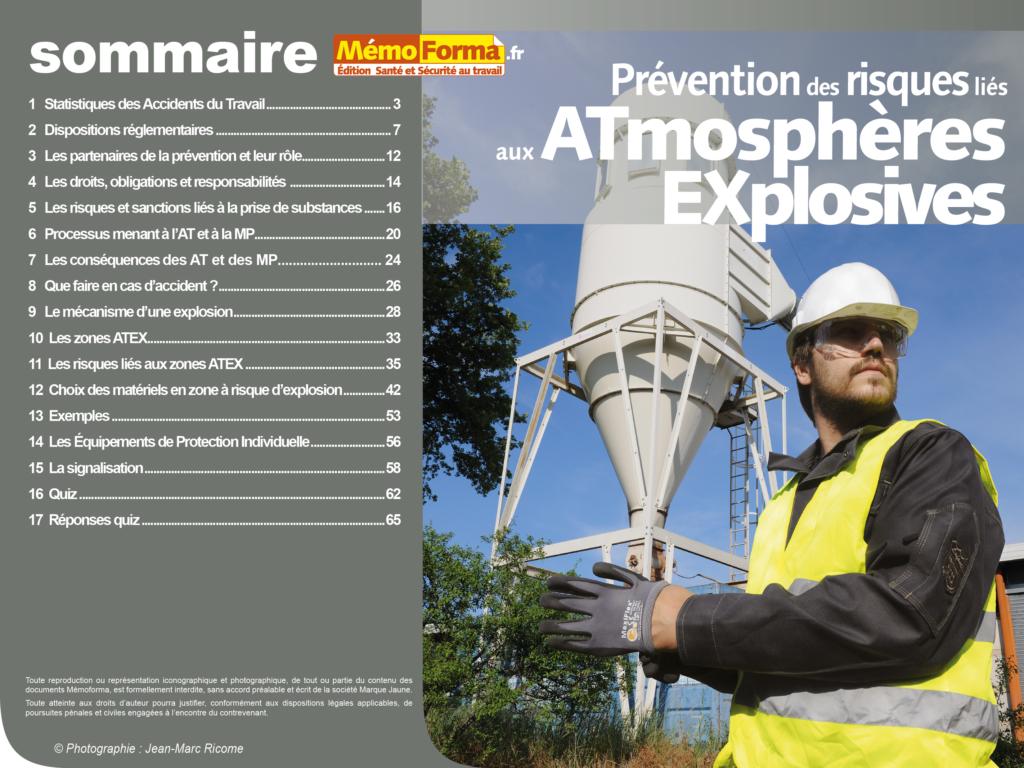 Support formateur – Prévention des risques liés aux ATEX - MémoForma.fr