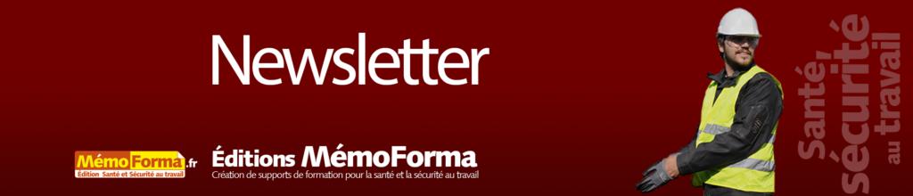 Accueil Newsletter MémoForma.fr