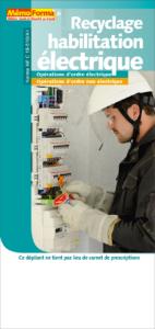 Dépliant – Recyclage habilitation électrique - MémoForma.fr