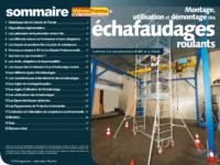 Support formateur – Montage, utilisation et démontage des échafaudages roulants - MémoForma.fr