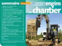 Support formateur – Conduite en sécurité des engins de chantier - MémoForma.fr