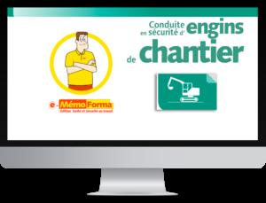 Formation en ligne e-MémoForma - Utilisation des accessoires de levage – Conduite en sécurité des engins de chantier - MémoForma.fr