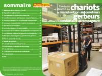 Support formateur – Conduite en sécurité des chariots de manutention automoteurs gerbeurs à conducteur accompagnant - MémoForma.fr