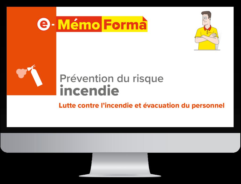 Formation en ligne e-MémoForma – Prévention du risque incendie - MémoForma.fr