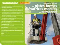 Support formateur – Conduite en sécurité des plates-formes élévatrices mobiles de personnel - MémoForma.fr