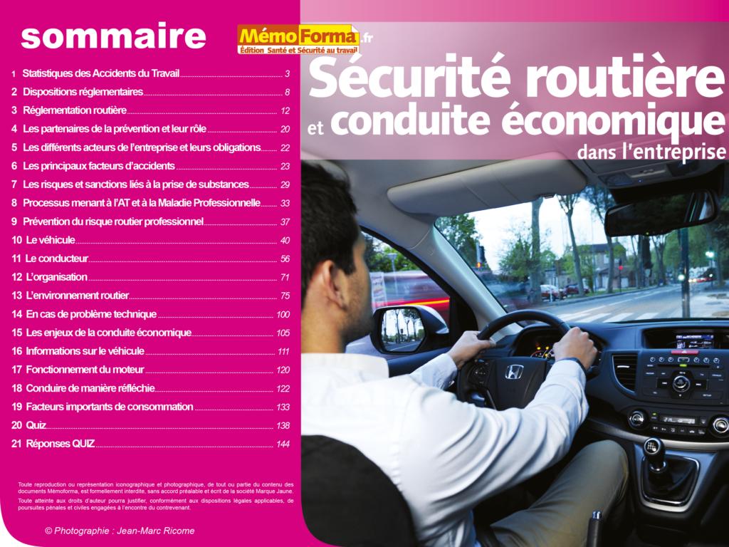 Support Formateur – Sécurité routière- MémoForma.fr