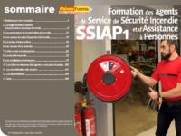 Support formateur – Prévention des risques liés au SSIAP1 - MémoForma.fr