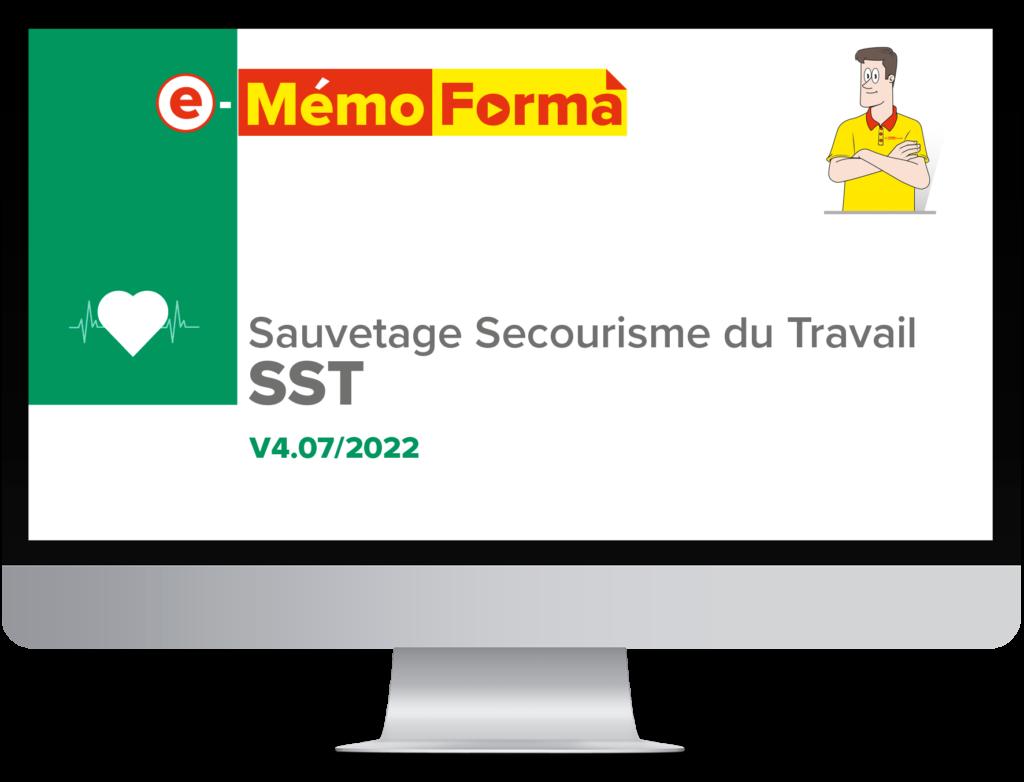 Formation en ligne e-MémoForma – Sauvetage Secourisme du Travail - MémoForma.fr