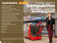 Support formateur – Conduite en sécurité des transpalettes électriques à conducteur accompagnant - MémoForma.fr
