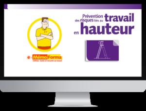 Formation en ligne e-MémoForma – Prévention des risques liés au travail en hauteur - MémoForma.fr