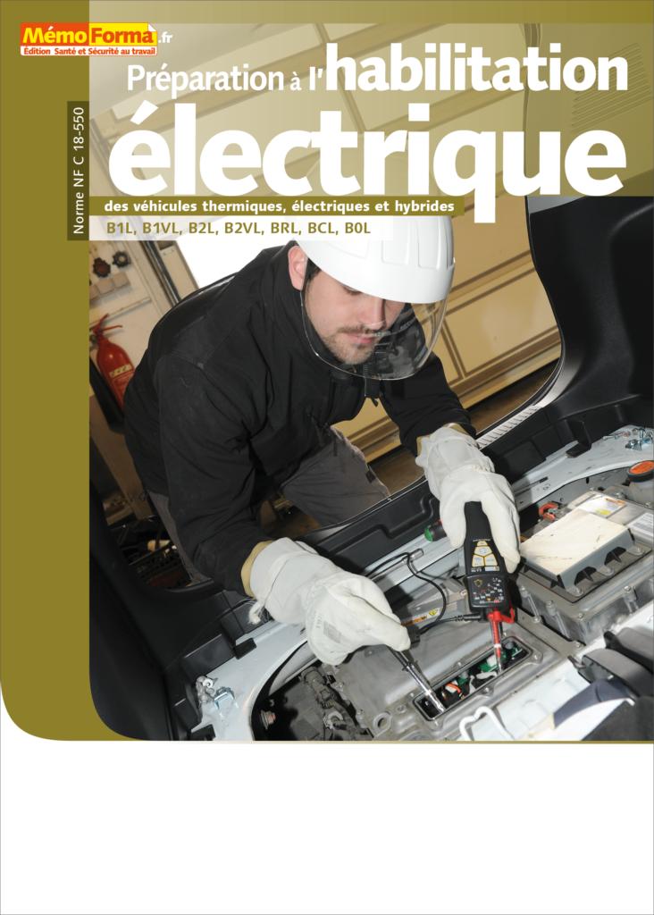 Manuel de formation – Préparation à l'habilitation électrique des véhicules thermiques, électriques et hybrides - MémoForma.fr